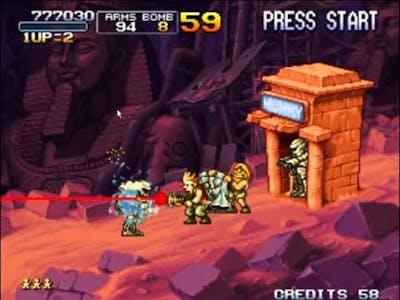 My Classic Game - Metal Slug X