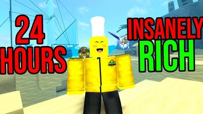 THIS IS WHAT HAPPENS IF YOU DIG FOR 24 HOURS (Roblox Treasure Hunting Simulator)