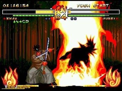 Supreme demonstration! ENJA - Samurai Shodown 5 Special playthrough