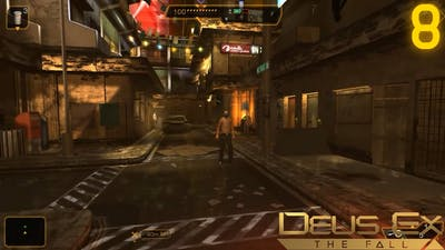 Let's Play Deus Ex: The Fall 08: Into The Slums