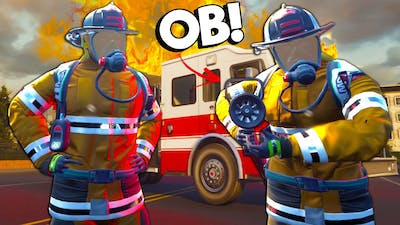 OB RUINED Our Fire Fighter Rescue Mission! - Firefighting Simulator Multiplayer