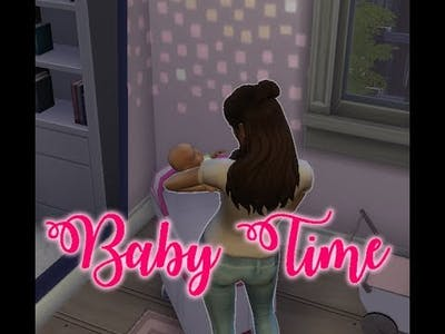 The Sims 4 / Parenthood Challenge / Baby Time!