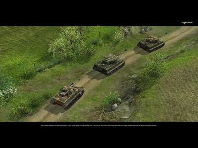 """Pc Game Intro Soldiers Heroes of World War 2 """"Wrath of the Tiger"""" German Campaign"""