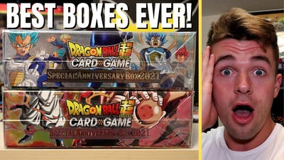 *NEW* Dragon Ball Super 2021 Special Anniversary Box Opening!