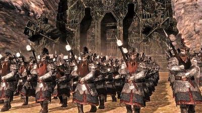 Dwarven Alliance Vs Azog's Dol Guldur Orcs   19,000 Unit Cinematic Battle   Total War Rise of Mordor