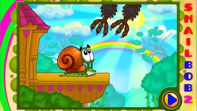 Snail Bob 2 Tiny Troubles Episode 1 Little snail Bob wanted to launch a plane, but he was prevented