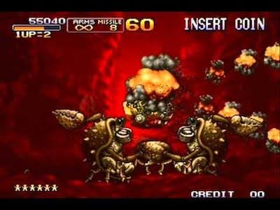 metal slug 3 mission 1 level 8 NO DEATH