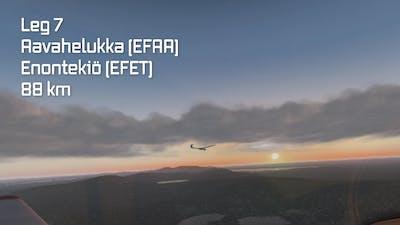 Fennoscandian Glider Tour: Leg 7 (EFAA-EFET)