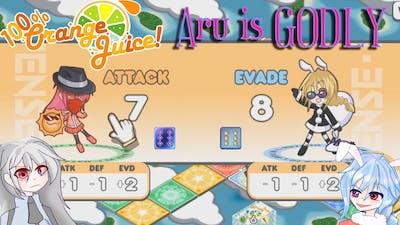 100% Orange Juice: But I'm Dodging my Friends Salt. [ with Aru ]
