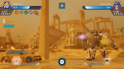 Transformers Forge To Fight - Special Mission - All Boss Fights!