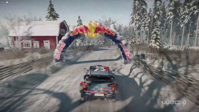 Hyundai i20 - WRC 9 | TOP10 Vergasen Reverse Sweden Chase Cam + On-board | Thrustmaster TX