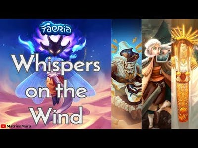 Faeria: Whispers on the Wind (Final Chapter)