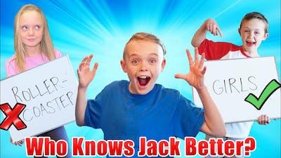 Who Knows Jack Better! Jazzy vs Kade! (Pt 2)