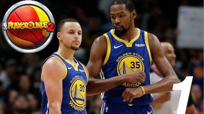 NBA 2K PlayGround 2 NBA Season Ep 1 - Stephen Curry Gaming Winner