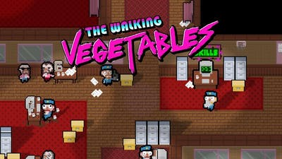 Big Anime Onion Eyes | The Walking Vegetables (Gameplay / Let's Play)
