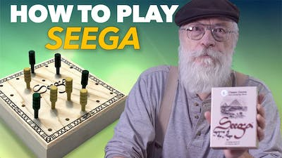 How To Play Seega, the ancient Egyptian strategy game.