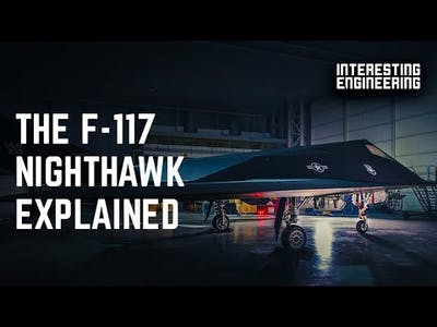 The mysteries of the elusive F-117 Nighthawk