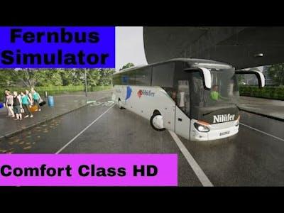 Fernbus Simulator!DLC Comfort Class HD!Pc Gameplay!