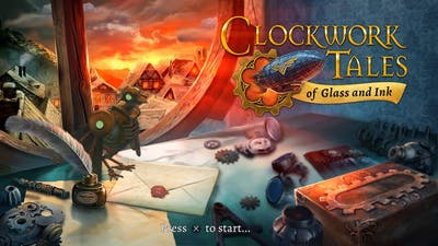 Clockwork Tales of Glass and Ink GAMEPLAY First 15 Minutes