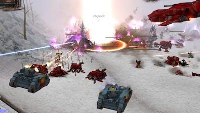 Codex Mod 2020: Dark Eldar and Eldar vs Space Wolves and Blood Angels! Warhammer 40K: DOW: Soulstorm