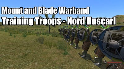 Mount and Blade Warband - Training Troops/Nord Huscarl #1