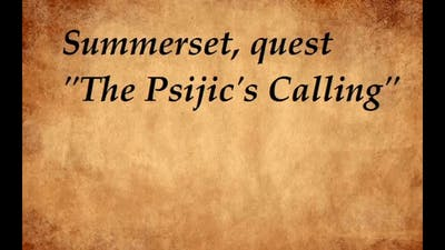 ESO - Summerset - Psijic Order`s Skill line -  part 2 The Psijics Calling