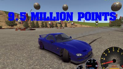 PERFECT RUN ON DRIFT STREETS JAPAN 9 5 MILLION POINT DRIFT TRACK ONE WITH SOME EXTRA 360'S