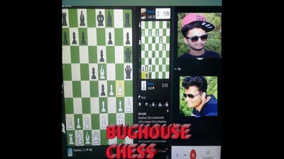 Funny Bughouse Chess with my friend Anshuman!
