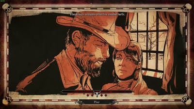Hard West - Walkthrough Gameplay Part 1 (PC)