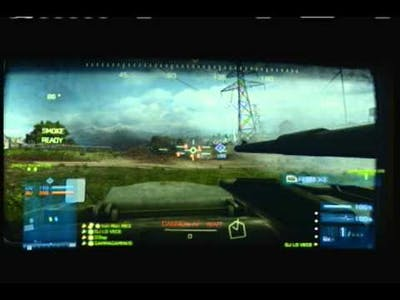 Battlefield 3- Armored Kill: Armored Shield & Death Valley Gameplay