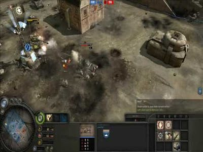 Company of heroes tales of valor: panzerkrieg gameplay 1