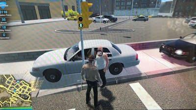 Stolen car. Flashing lights. Police fire EMS episode one