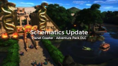 Schematics Update - Planet Coaster Adventure Pack DLC - First Look!