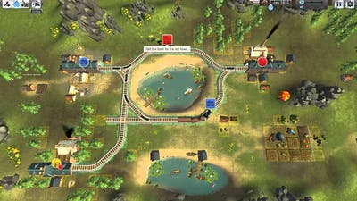 Train Valley the begin of the game