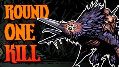 E5 Plays Darkest Dungeon - Round One Shrieker Kill!