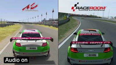 Assetto Corsa vs RaceRoom - Audi TT Cup Comparison