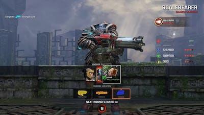 First Quake Game