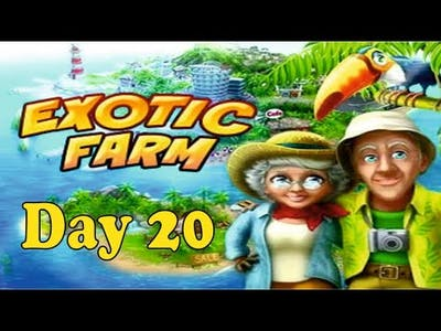 How to Play Exotic Farm Game - Day 20 ||Exotic Farm Game || Playzone