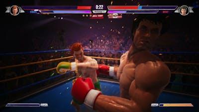 "Big Rumble Boxing: Creed Champions - Luke ""Scraps"" O'Grady vs Rocky Balboa (Arcade Mode)"