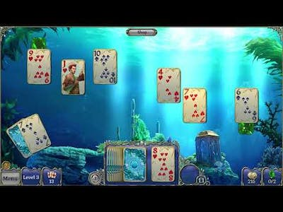 Jewel Match Solitaire Atlantis Collector's Edition First Look No Commentary