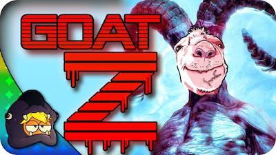 Goat Simulator | ZOMBIES (Goat Simulator: GoatZ DLC Impressions and Funny Moments)