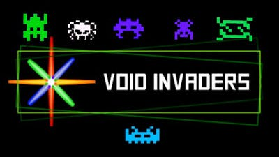 Void Invaders! Endless mode 480,000 // Awesome Indie game you should be playing