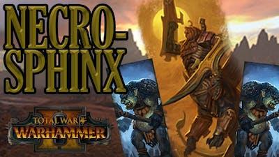 UNDERRATED UNIT: Necrosphinx - Tomb Kings vs Greenskins // Total War: WARHAMMER II Multiplayer