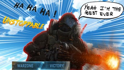 How to get a easy win in Warzone (Joggernaut madness)