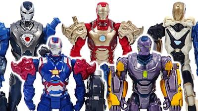 Marvel Avengers Iron-Man army! Defeat the Lego Thanos and Venom robots!   DuDuPopTOY