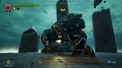 Darksiders III Keepers Of The Void Boss Battle!