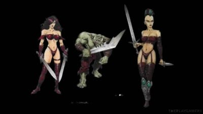 Deathtrap Dungeon - Making of