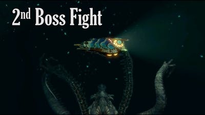 Shinsekai - Into the Depths - 2nd Boss Fight gameplay - Excubitor eternus (Switch)