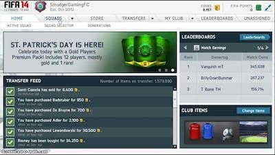 Fifa 14 Web app guide for UT
