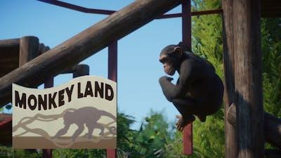 Monkey Land: Immersive Tour (Planet Zoo)